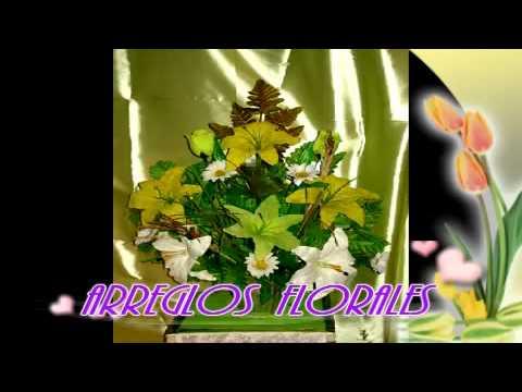 Arreglos florales con flor artificial youtube - Arreglos florales artificiales centros de mesa ...