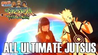 Naruto Shippuden Ultimate Ninja Storm Revolution: All Ultimate Jutsus