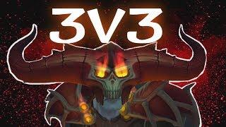 [WoW] Affliction Warlock 3v3 Gameplay | MOAR DOTS | Patch 7.3.5 Legion | Claak