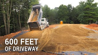 ICF Mountain Homestead: Six Hundred Feet of Gravel Driveway
