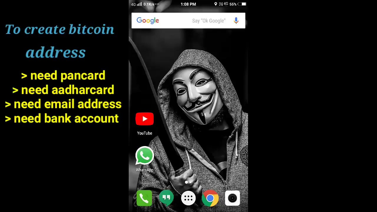 How to use zebpay app how to deposit and buy bitcoins create how to use zebpay app how to deposit and buy bitcoins create bitcoin address telugu tech guys ccuart Images