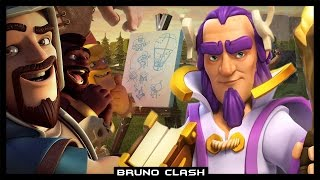 ESTRATÉGIA: GRANDE GUARDIÃO E RAINHA ARQUEIRA - Clash of Clans - Bruno Clash