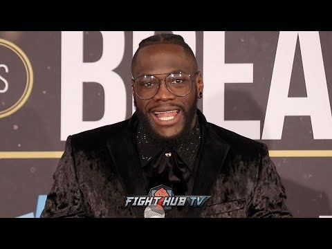 DEONTAY WILDER'S IMMEDIATE REACTION OF BRUTAL KNOCKOUT OF DOMINIC BREAZEALE