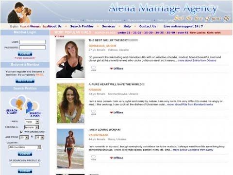 dating agency website design