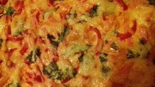 Очень вкусная пицца по быстрому из слоёного теста