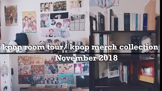 kpop room tour/kpop collection // November 2018