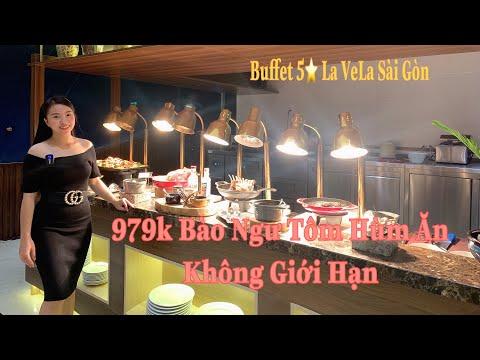 Buffet 5 Sao Sang Chảnh 979K BÀO NGƯ, TÔM HÙM | La Vela Saigon Hotel |  The Mermaid Restaurant