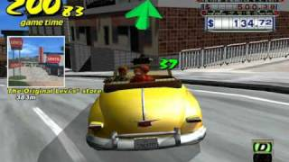 Lets play Crazy Taxi! Driving games are not designed for Pc are they?