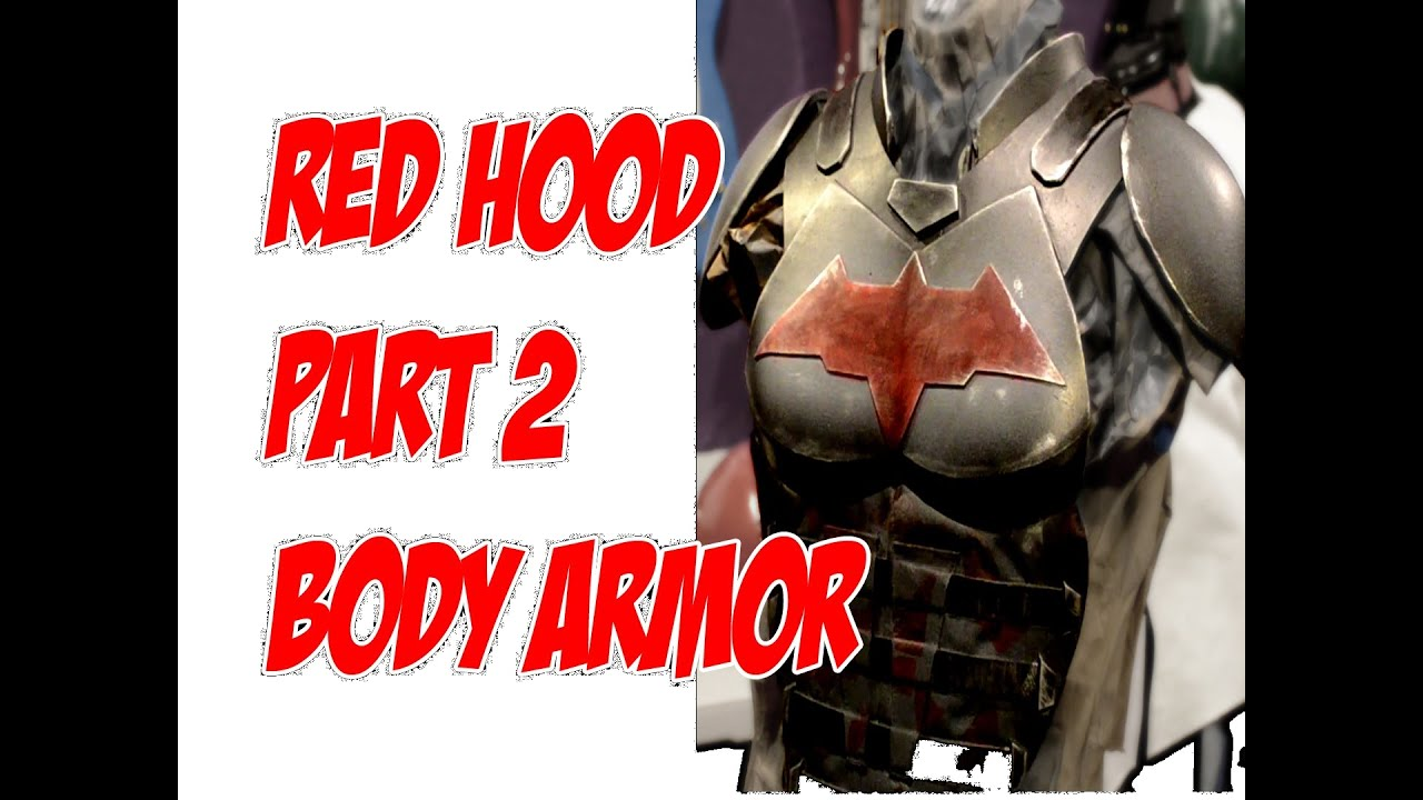 Red hood how to diy cosplay costume pt 2 body armor jason todd red hood how to diy cosplay costume pt 2 body armor jason todd solutioingenieria Gallery