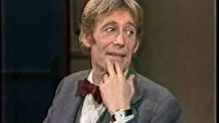 Peter O'Toole on Late Night, April 18, 1983