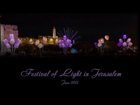Jerusalem Light Festival 2015