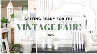 Craft Fair Tips ~ Vintage Fair Update ~ Furniture Makeovers