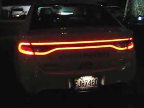 2013 Dodge Dart Sxt Night View Youtube