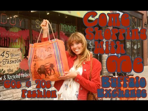 Come Shopping With Me! | Buffalo Exchange | 60s & 70s Fashion
