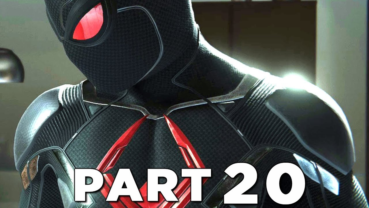 Spider Man Ps4 Walkthrough Gameplay Part 20 Black Cat Dark Suit