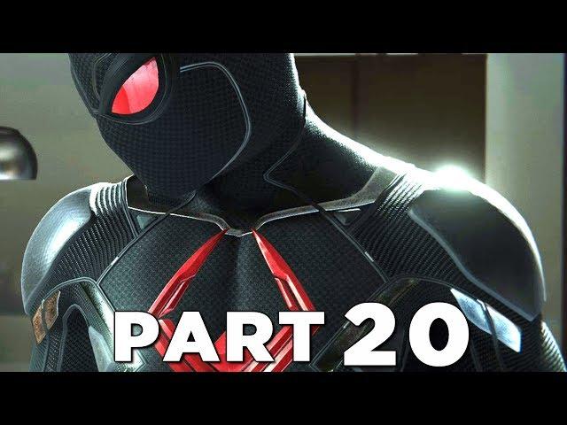 SPIDER-MAN PS4 Walkthrough Gameplay Part 20 - BLACK CAT DARK SUIT (Marvels Spider-Man)