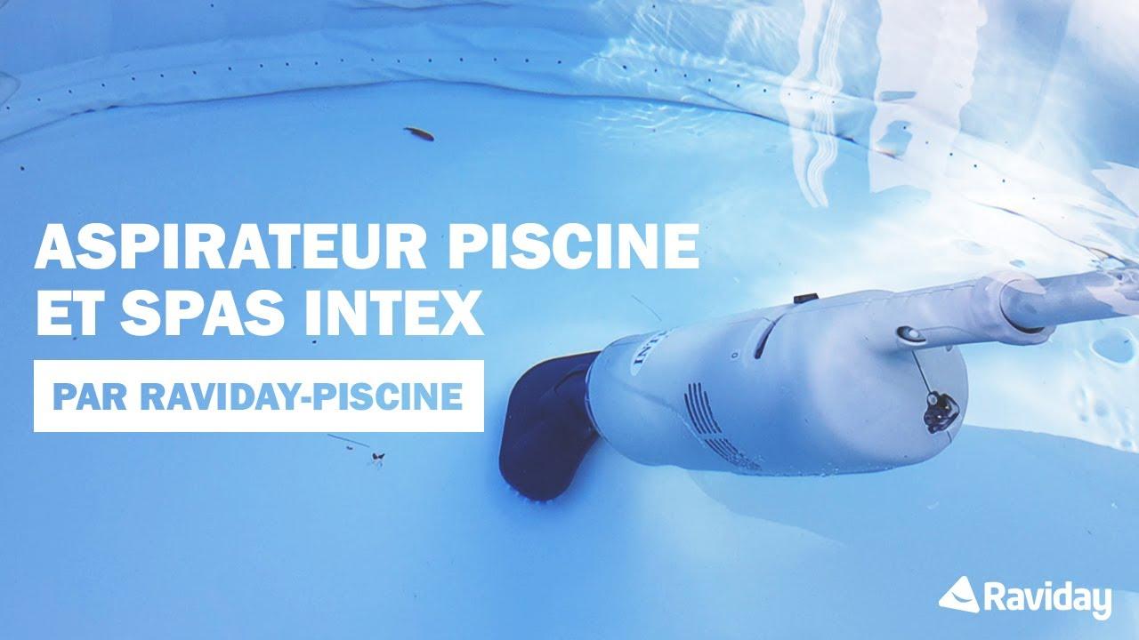 Aspirateur Piscine Et Spa Intex Montage Et Presentation Youtube