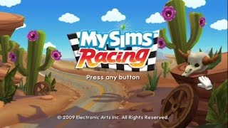 MySims Racing Wii Gameplay