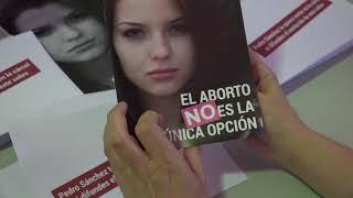 Estamos DISTRIBUYENDO masivamente el folleto EL ABORTO NO ES LA ÚNICA OPCIÓN