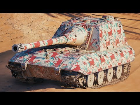World of Tanks Jagdpanzer E100 - 5 Kills 12,1K Damage thumbnail