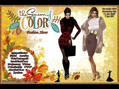 B'Unique Fall Fashion Show 2016: IMVU Movie Event