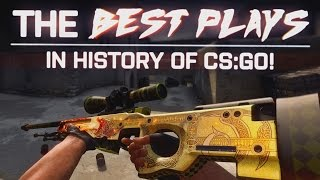 CS:GO | THE BEST PLAYS in HISTORY OF CS GO!!! (Oh My.. WHAAAT, CRAZY REACTIONS, LUCKIEST SHOTS)