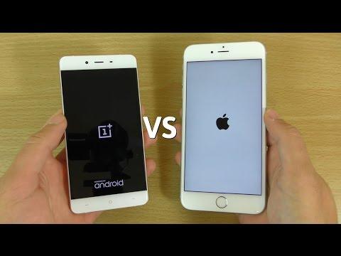 OnePlus X VS iPhone 6S+ - Speed & Camera Test!