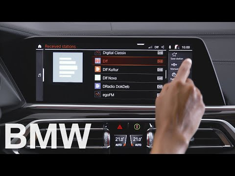 How to save your favourite radio stations – BMW How-To