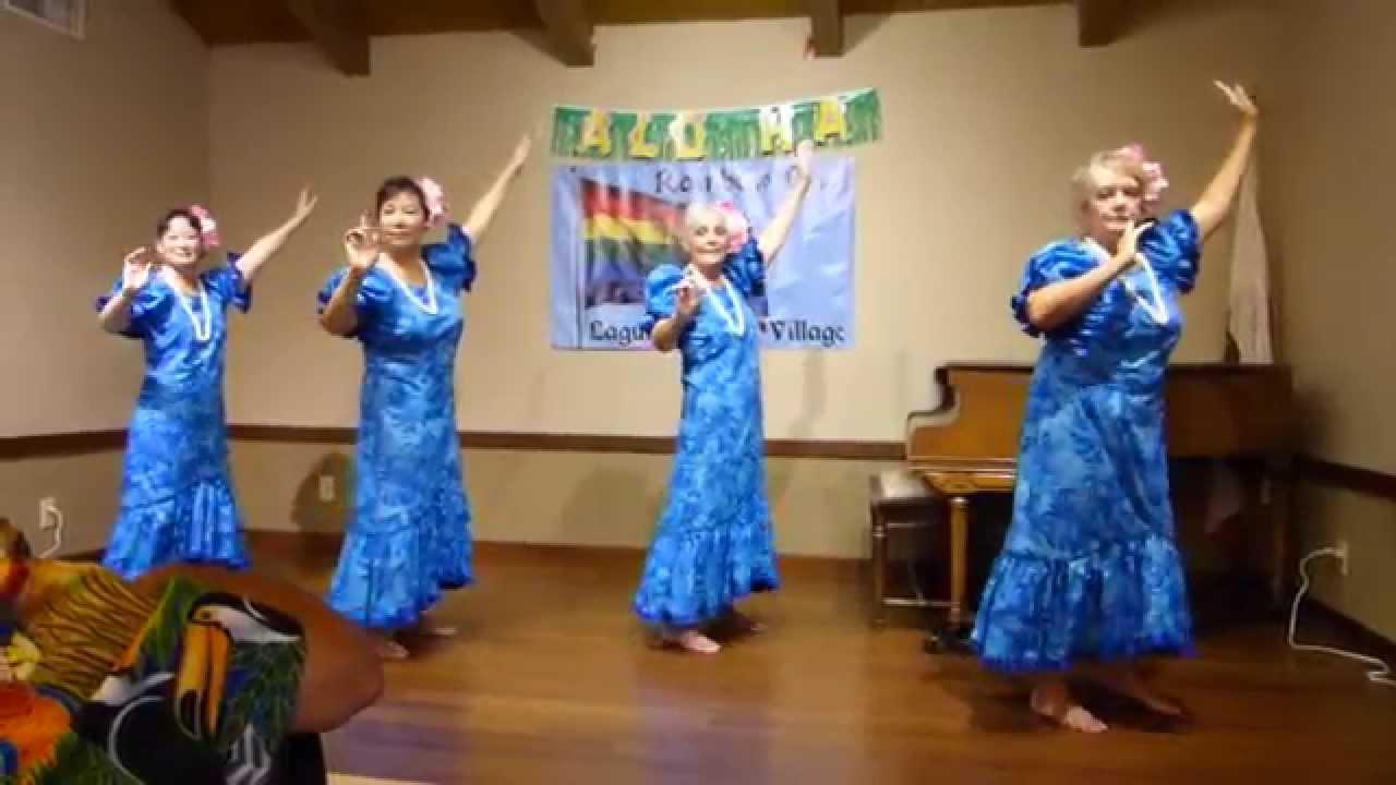 Hula Dancers @ The Rainbow Club in Laguna Woods Village