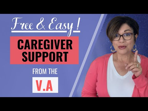 3 TYPES OF SUPPORT from the VA Caregiver Support Program