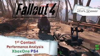 Fallout 4: 1st Contact Performance analysis Xboxone PS4