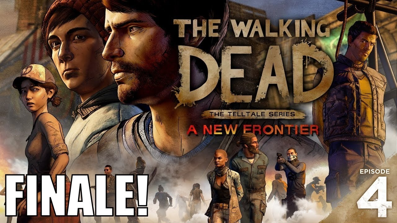 I'll BODY SLAM YOUR DUMB A** - The Walking Dead: A New Frontier Episode 4 FINALE! - I'll BODY SLAM YOUR DUMB A** - The Walking Dead: A New Frontier Episode 4 FINALE!