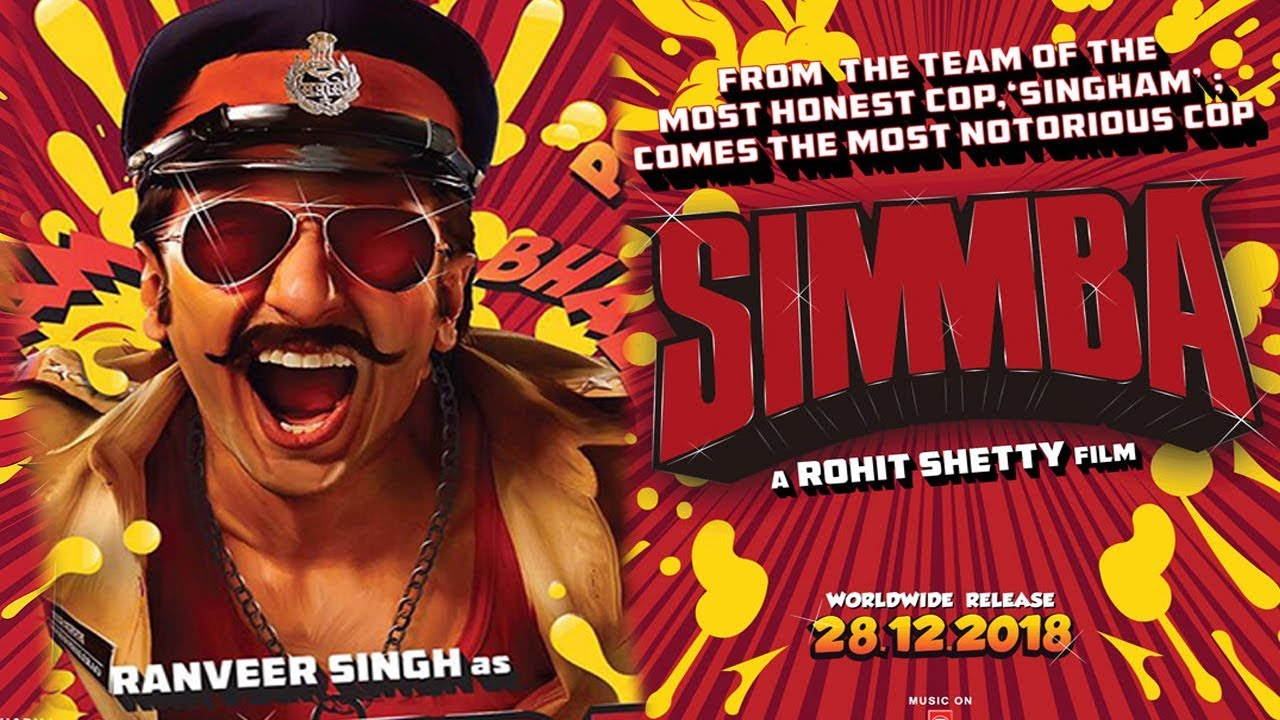 Image result for simmba movie poster