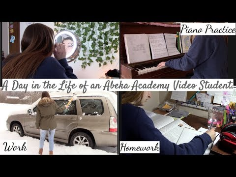Day in the life of an Abeka Academy Video Student!