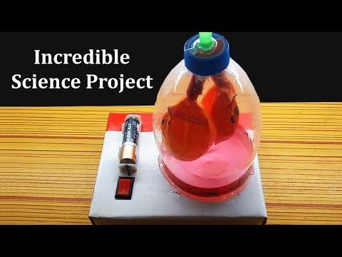 How to make heart pump model - YouTube