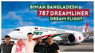 বিমান বাংলাদেশ বোয়িং 787, & quot; ড্রিম ফ্লাইট করুন & quot;