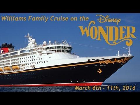 Disney Wonder Cruise March 2016