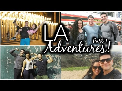 LA Adventures Pt. 1    Steve Cook, Dana Carvey & Donuts?!