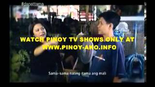 Dapat Tama - Gloc-9 ft. Denise Barbacena (Music Video) with GMA News Anchor and Reporter- 2013-04-17