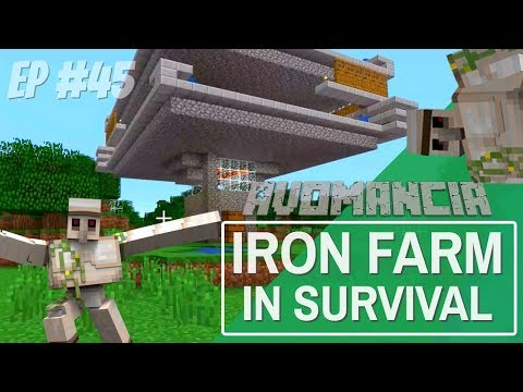 Minecraft: How to Make an Iron Farm in Minecraft Survival | Avomancia Ep45 with Avomance | Lets Play thumbnail