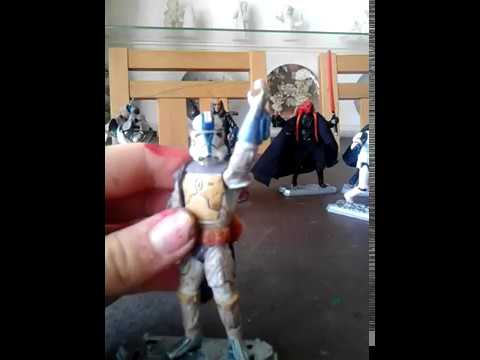 Star Wars figure custom.