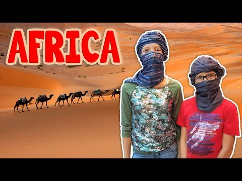 We went to AFRICA!!!