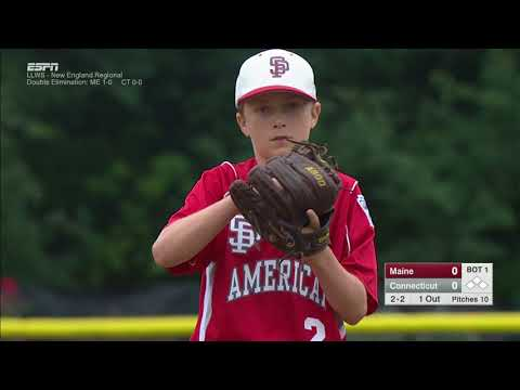 LLWS REGIONALS - South Portland Maine vs  Fairfield Connecticut
