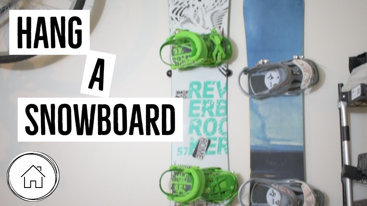 HangtimeUSA Snowboard Wall Mount