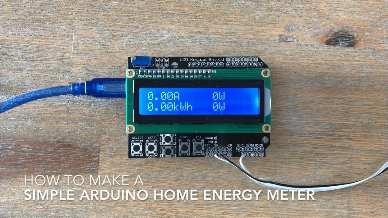 Simple Arduino Home Energy Meter | The DIY Life