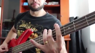 Pantera - The Art Of Shredding - Bass lesson with tabs