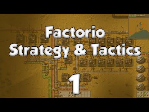 Factorio Strategy & Tactics 1: The Stone Age