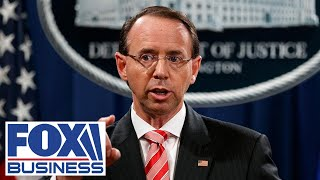 Rod Rosenstein testifies before Senate committee on Russia probe