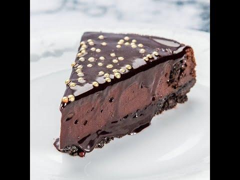 Cheesecake cu ciocolată și biscuiți Oreo