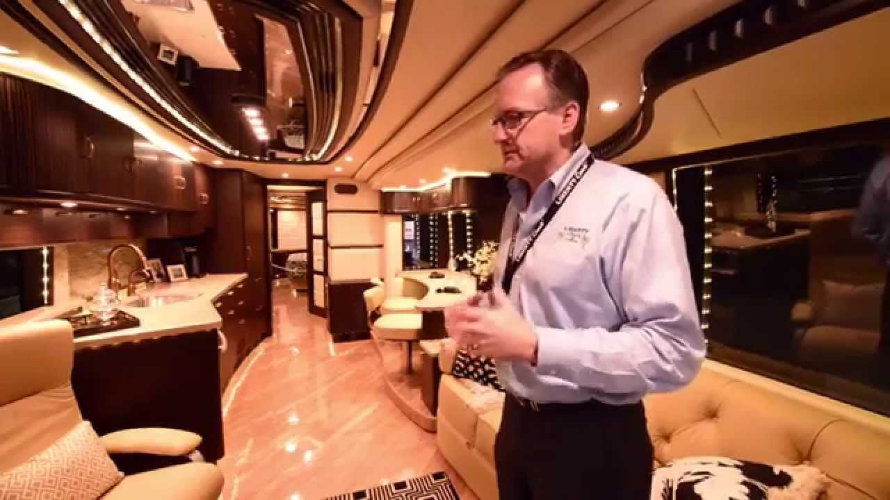 The 2 5 million dollar motorhome liberty coach full for Million dollar motor coaches